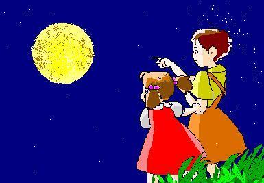 月夜のサツキとメイ