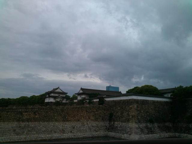 大阪城なう